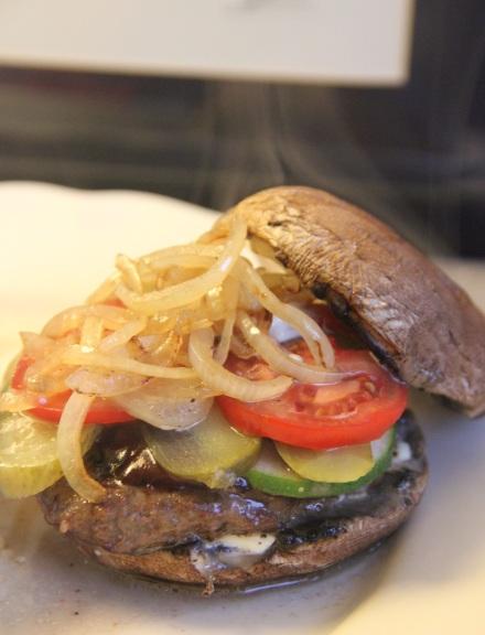 Portobello hamburger